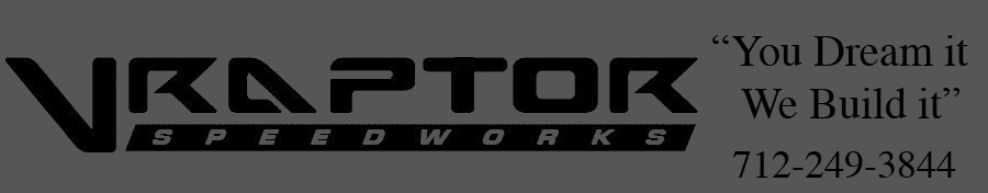 "VRaptor SpeedWorks ""You Dream It, We Build It!"""
